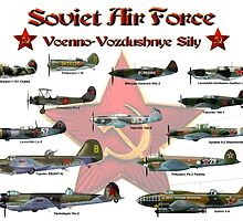 Soviet Air Force by Mil Merchant