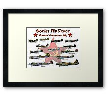 Soviet Air Force Framed Print