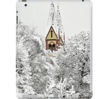 Church in Snow iPad Case/Skin