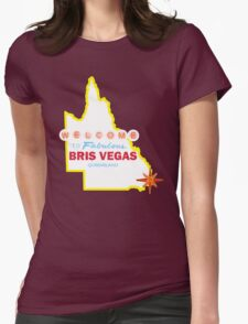 Bris Vegas Womens Fitted T-Shirt