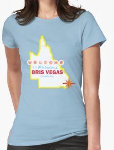 Bris Vegas Womens Fitted T-Shirt