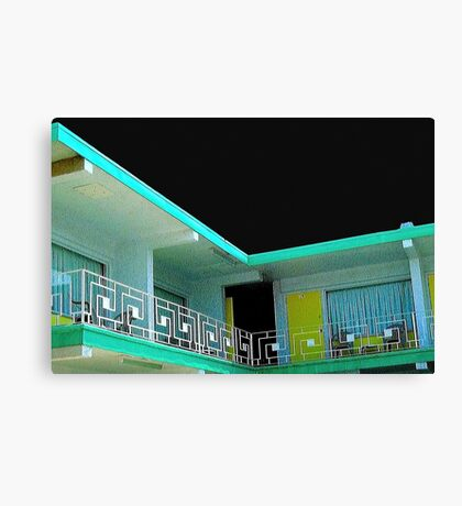 motel 5 Canvas Print