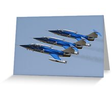 Starfighters Team Greeting Card