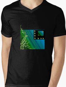 lines of color Mens V-Neck T-Shirt