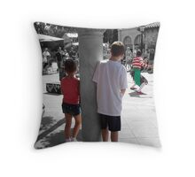 Visions through a childs eyes Throw Pillow