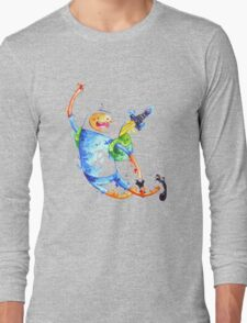 Finn highfive Long Sleeve T-Shirt