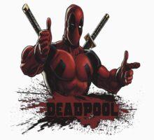 Deadpool Kids Clothes