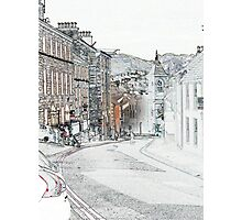 Irish Street, Downpatrick Photographic Print