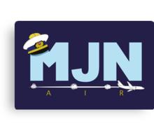 MJN Air  Canvas Print
