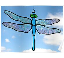 Dragonfly (Iridescent Wings) 2 Poster