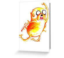 Jake Highfive Greeting Card