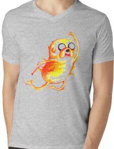 Jake Highfive Mens V-Neck T-Shirt