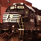 Norfolk Southern 4614 by Harlan Mayor