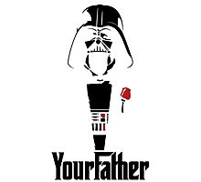 Darth Vader's your Father!! Photographic Print