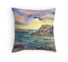 Elephant Butte Lake State Park New Mexico Throw Pillow