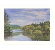 Nova Scotia Reflections 2 Art Print
