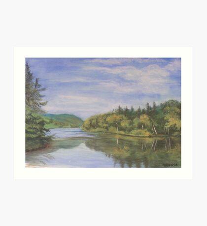 Nova Scotia Reflections 2 Art Print