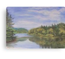 Nova Scotia Reflections 2 Canvas Print