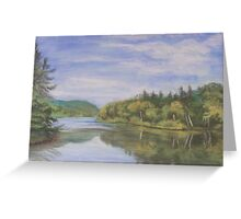 Nova Scotia Reflections 2 Greeting Card