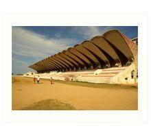 Cuban Stadium Art Print
