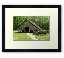 Shotgun Barn Framed Print
