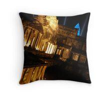 Luminous Angkor Throw Pillow