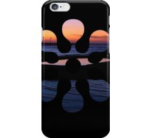 Tidal Pool Sunset Glow iPhone Case/Skin
