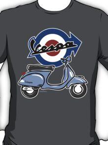 Vespa LX scooter light blue T-Shirt