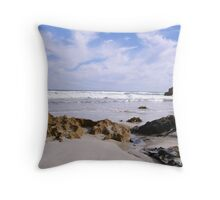 Pethers Beach Throw Pillow