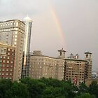 Rainbow Over Midtown by Lovesmusic
