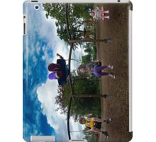 3  Kids on a Swing iPad Case/Skin