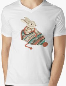 cozy chipmunk  Mens V-Neck T-Shirt