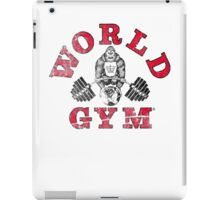 World Gym iPad Case/Skin