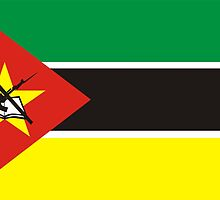 flag of Mozambique by tony4urban