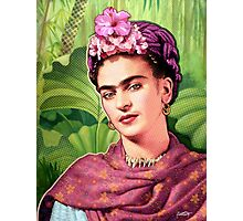 Frida Kahlo - Iconic Mexican Painter Photographic Print