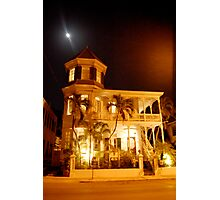 The Haunted Artist House Photographic Print