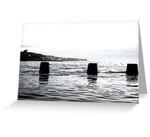 South Coogee Pt.1 Greeting Card