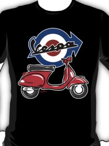 Vespa LX scooter red T-Shirt