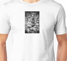 feather and stones Unisex T-Shirt