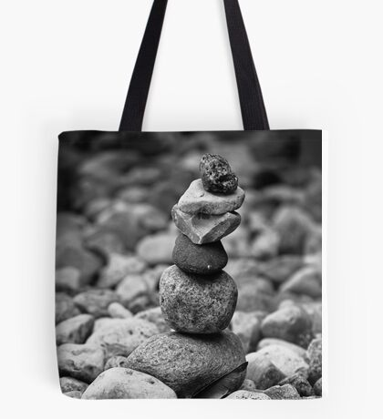 feather and stones Tote Bag