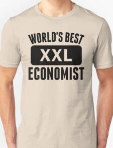World's Best Economist T-Shirt