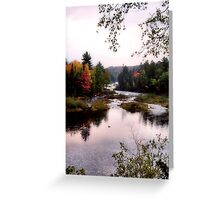 Autumn Falls II Greeting Card