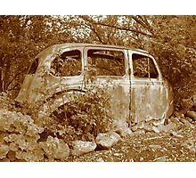 Hillman - The Family Car Photographic Print