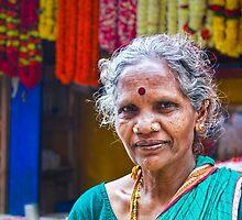 Flower Seller by Neha  Gupta
