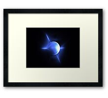 Blue World Framed Print