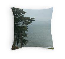 Above Baker Beach Throw Pillow