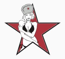 Red Star Girl by jauwa2