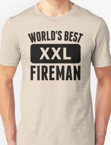 World's Best Fireman T-Shirt