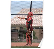 catchers uniform Poster