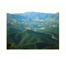 Mt. Warning: The View Art Print